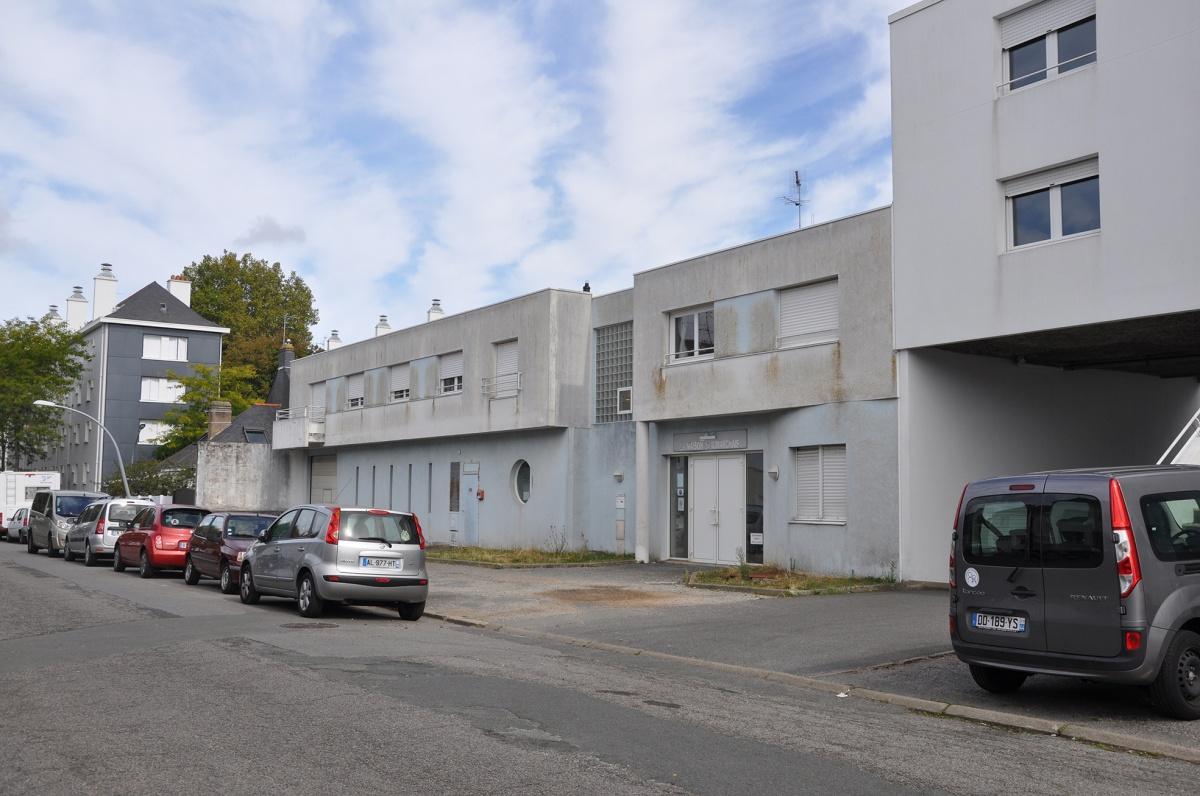 Résidence Beaumarchais : Façade sur rue existante