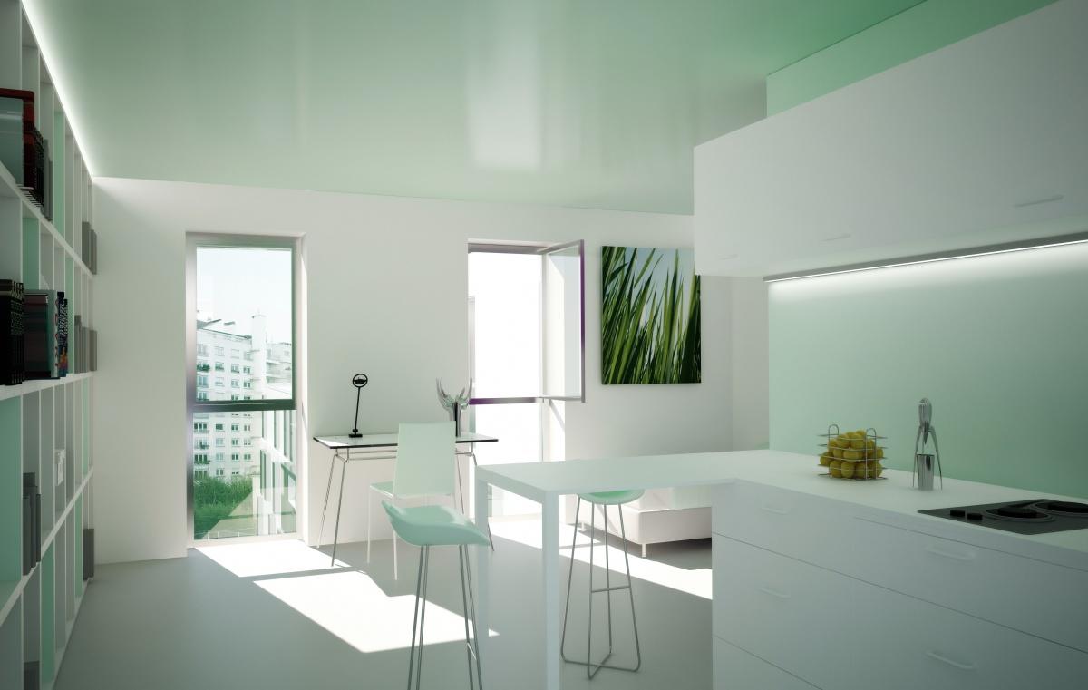 231 logements à Paris - Construction neuve de 81 logements et réhabilitation de 150 logements : SKP_DOM_INTERIEUR