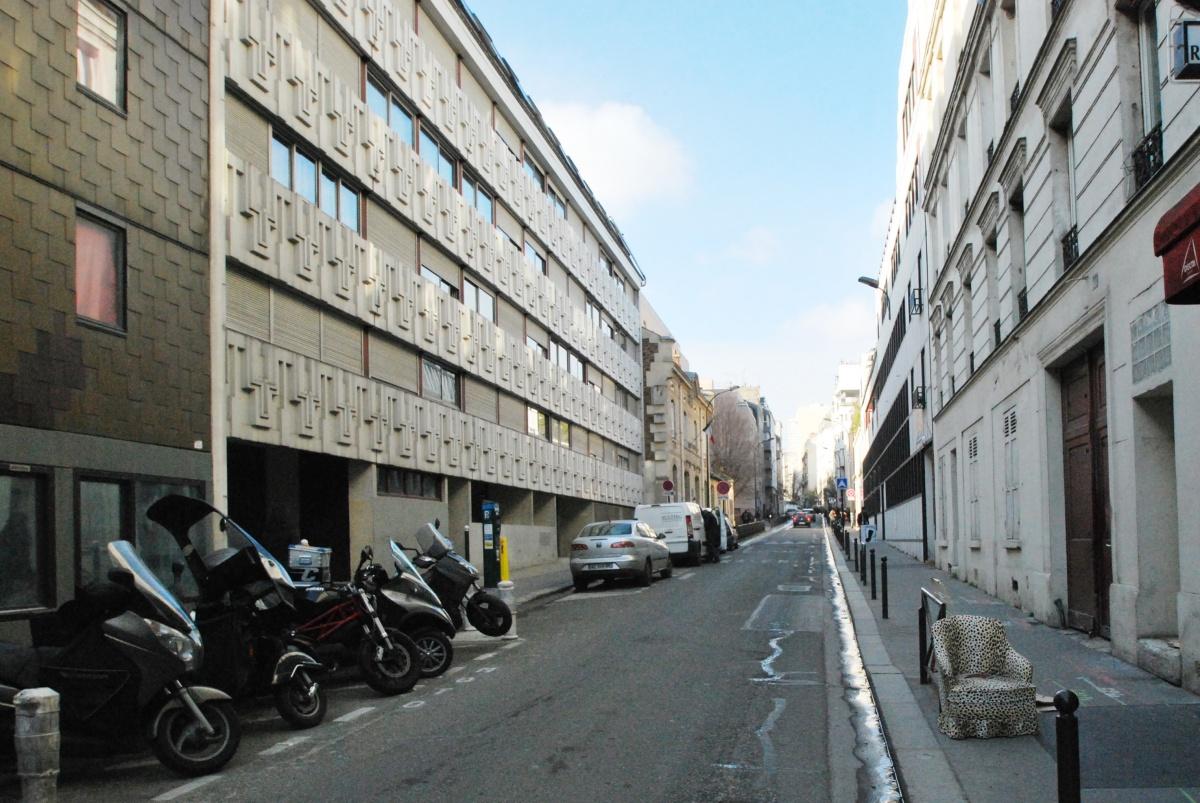 231 logements à Paris - Construction neuve de 81 logements et réhabilitation de 150 logements : SKP_VUE_RUE
