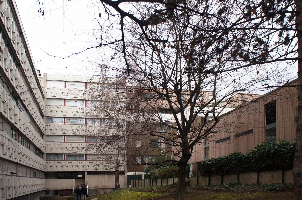 231 logements à Paris - Construction neuve de 81 logements et réhabilitation de 150 logements : SKP_VUE_COUR