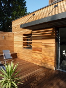 EXTENSION EN REZ-DE-JARDIN