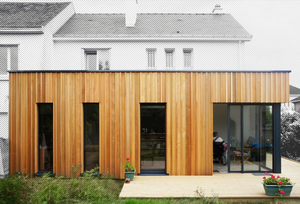 Extension et mise en accessibilité d'une maison à Petit Port - Nantes