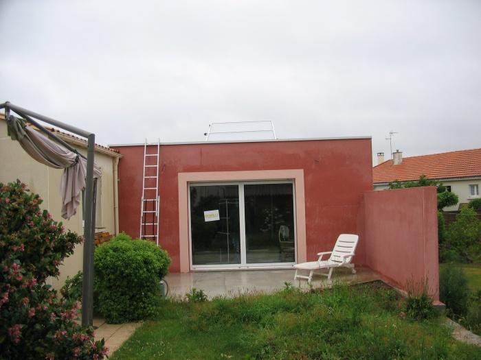 Maison R : Façade sud