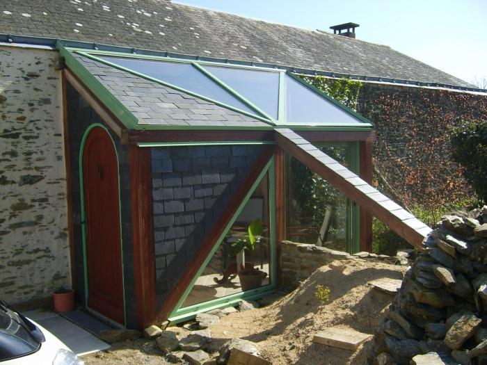 Extension d'une maison ( vérandas )