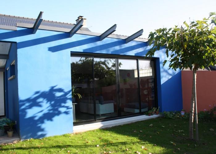 maison d saint herblain une r alisation de architecturas bzv. Black Bedroom Furniture Sets. Home Design Ideas