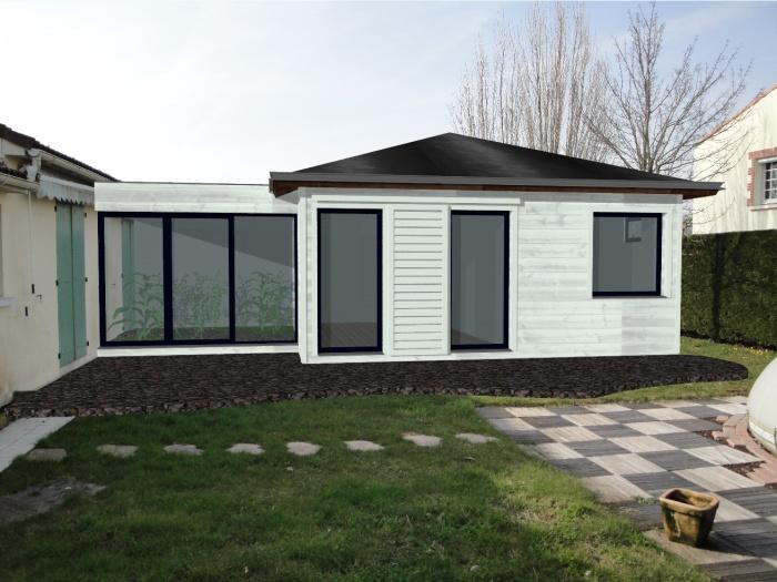 Extension d'une maison ( projet en cours )