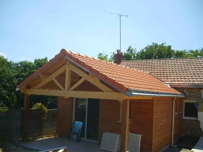 Rénovation, extension d'une maison et construction d'un garage ( projet en cours )