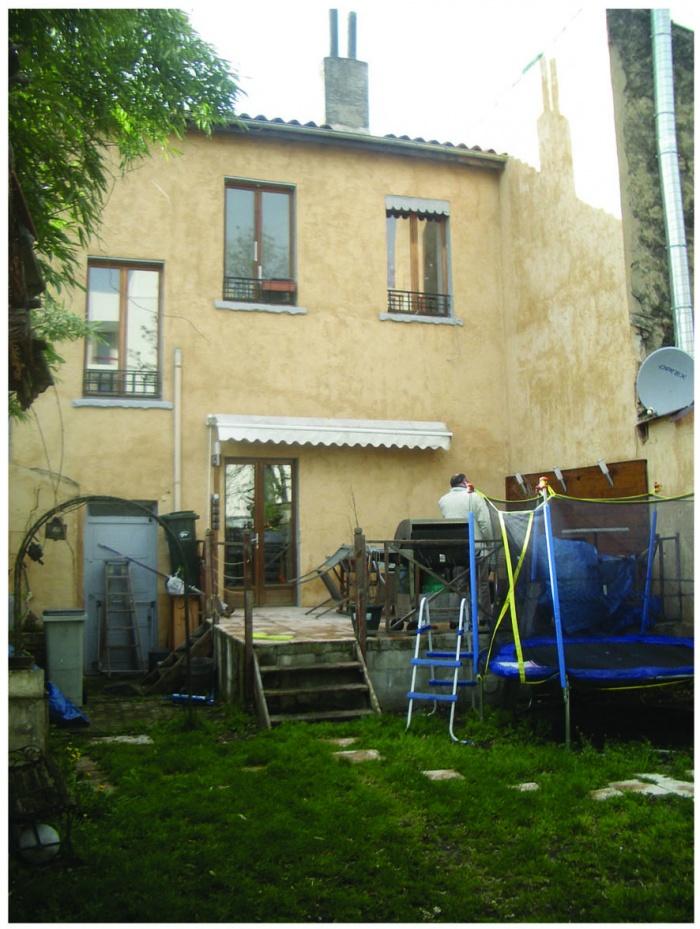 Extension d'une maison de ville : DP7