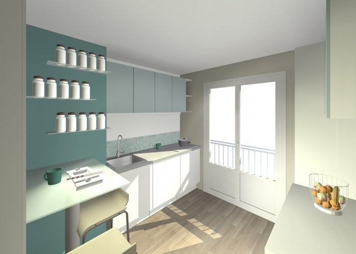 Rénovation complète intérieure d'un appartement