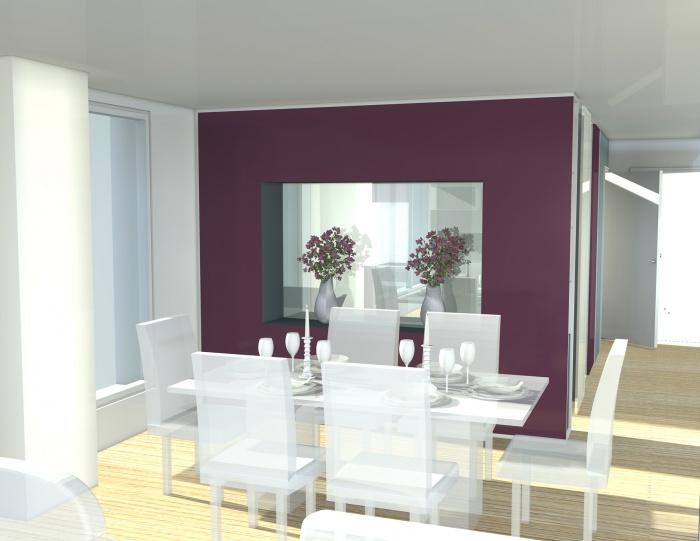 nouvelle configuration d 39 une cuisine s jour nantes une r alisation de ja 39 ad architecture. Black Bedroom Furniture Sets. Home Design Ideas
