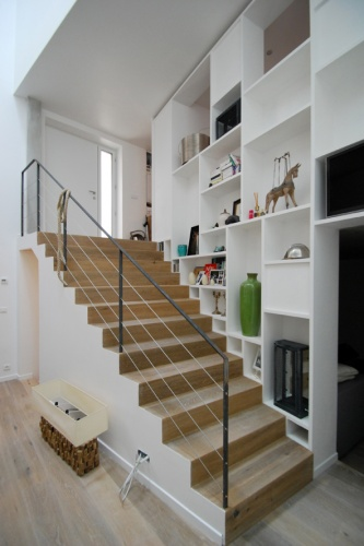 Transformation d'un immeuble en loft- Clichy : 10