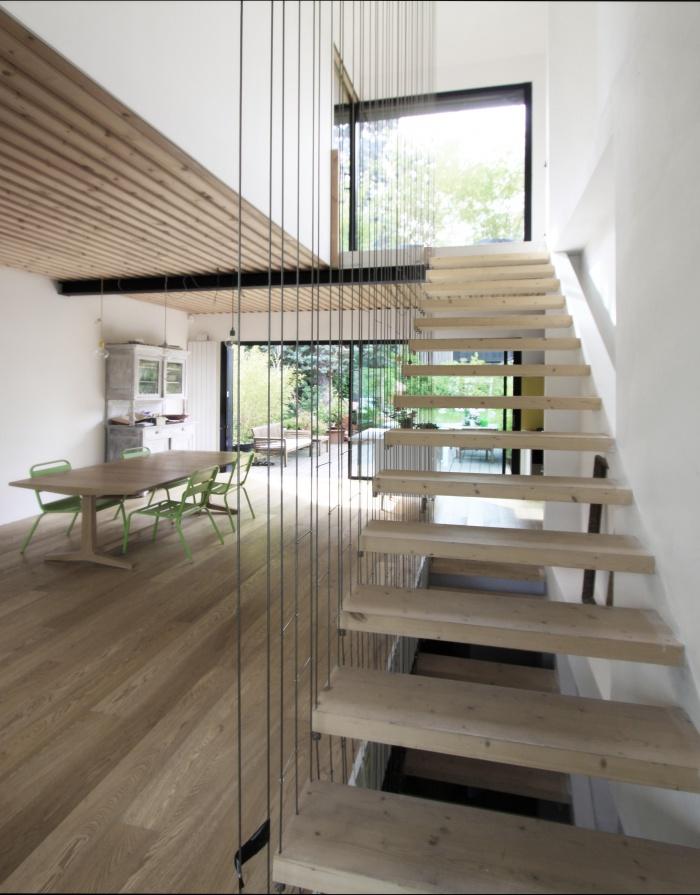 Construction habitat groupé - 2 logements BBC - Bagnolet : bagnolet 2014  08L