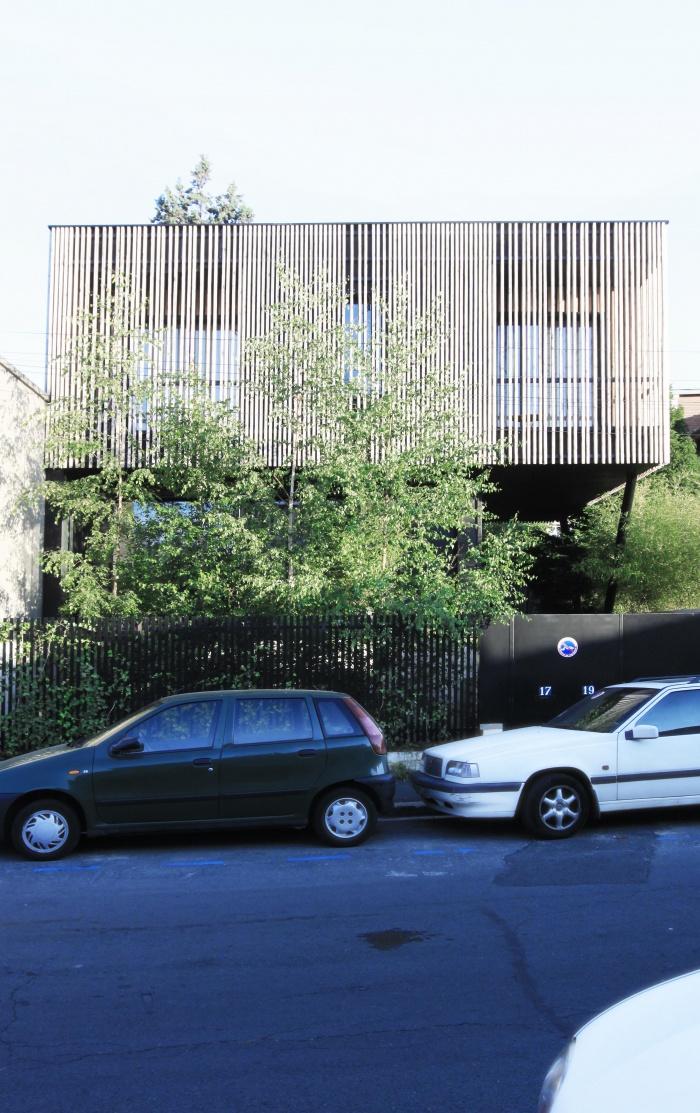 Construction habitat groupé - 2 logements BBC - Bagnolet : bagnolet 2014 04L