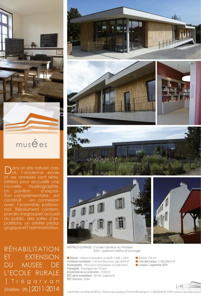 réhabilitation et extension du musée de l'ecole rurale