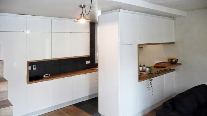 Renovation d'appartement : salon appt