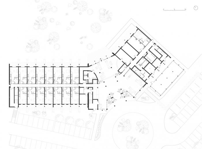 Hôtel Golden Tulip**** Carquefou : Plan du RdC
