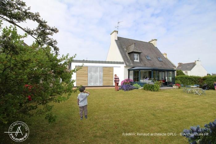 Extension d'une maison secondaire dans le Finistère