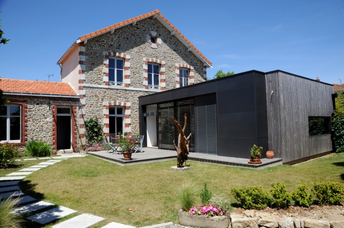 Extension et r novation d 39 une maison clisson clisson - Extension d une maison ...