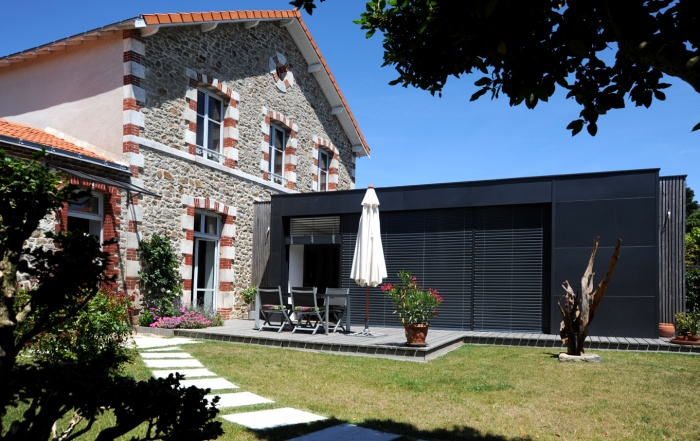 Extension et rénovation d'une maison à Clisson