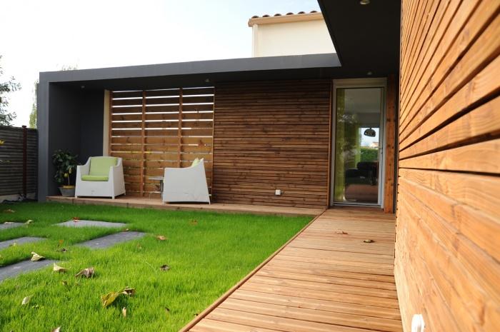 Extension et réagencement d'une maison à Gétigné