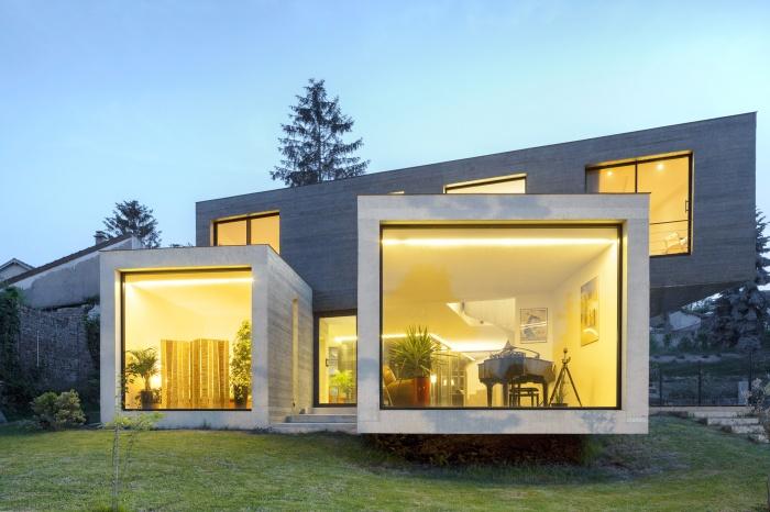 Maison individuelle à Créteil : CRE_BD_FRONTE NUITE
