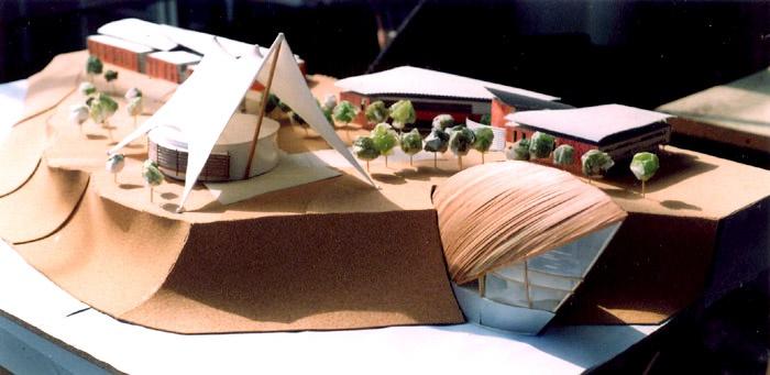 Projet de concours du mémorial de Gorée ( Sénégal )
