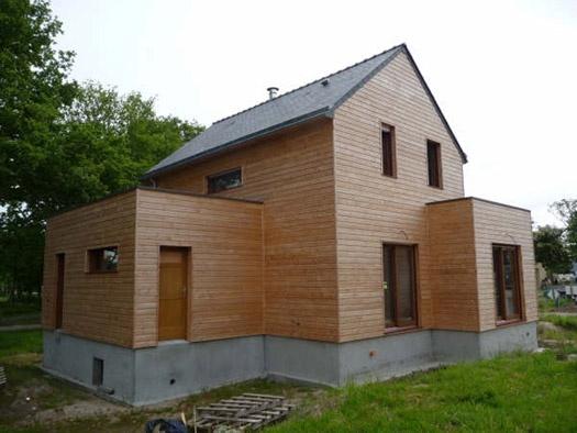 Projet construction  D'une maison d'habitation à LA CHAPELLE DES MARAIS 44