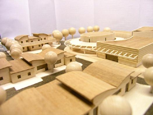 Projet de concours : une résidence pour personnes âgées.