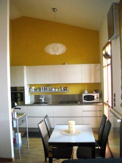 Projet d'aménagement intérieur d'un appartement. ( Toscane)