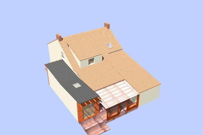 Prix dune maison de bois rond decize 58 75 paris for Autoconstruction maison bois prix