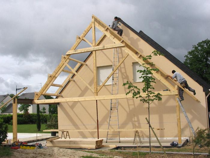 Projet d 39 extension d 39 une maison d 39 habitation nantes 44 for Projet d extension maison